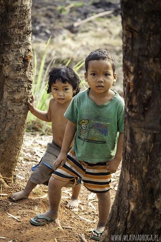 Dzieci kambodżańskie