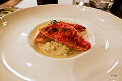 Red mullet (A. Wee) Tags: fish france restaurant hotel pashmina valthorens risotto    redmullet lerefuge lebasecamp