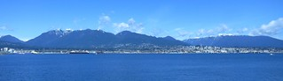 North Vancouver from Coal Harbour