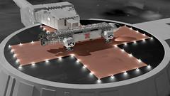 Eagle liftoff 2 (axeman3d) Tags: moon eagle space 1999 landing base
