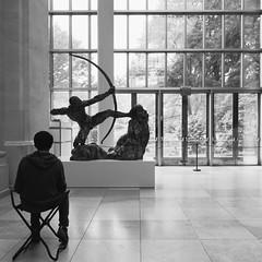 (valeriavannini) Tags: nyc blackandwhite museum bnw metropolitanmuseum