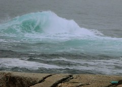 Breaking (photo fiddler) Tags: fog may wave peggyscove breaker 2016