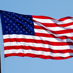 U.S. Flag on Liberty Island (NY) April 2016 thumbnail