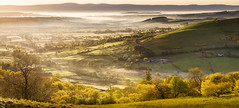 Blinded by the Morning Light (Dave Fieldhouse Photography) Tags: panorama mist sunrise landscape outdoors dawn nationalpark shadows lakedistrict hills cumbria fells earlysummer stitchedpanorama inexplore easternfells edendistrict
