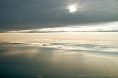 Ocean in the sky (Chris Brady 737) Tags: sun cumulus streaks stratus cirrostratus