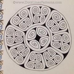 20160527_ZIA_Native_Study2(finished) (terem13) Tags: patterns zia zendala