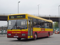 Back To My Old Self. Black Prince   P441 SWX (munden.chris) Tags: mercedesbenz morley redkite demonstrator blackprince optare repainted p441swx