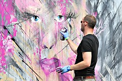 Olivier Roubieu (8333696) Tags: street urban streetart art festival bristol photography graffiti stencil mural paint artist mr spray urbanart spraypaint graff olivier shiz bristolgraffiti stencilgraffiti 2015 upfest shizz bedminister bristolstreetart nikond700 roubieu mrshizz upfest2015