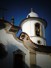 Torre antiga Matriz -Campo Belo MG (alecristian) Tags: church minas gerais igreja campo sinos belo barroco capela aleijadinho historico