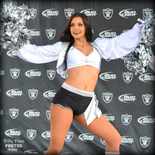 2014 Oakland Raiderette Autumn @ Raiderville
