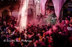 Barsana Nandgaon Lathmar Holi Low res (40 of 136) (Sanjukta Basu) Tags: holi festivalofcolour india lathmarholi barsana nandgaon radhakrishna colours