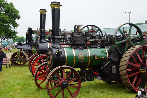 UK, Woolpit Steam Rally, Steam Line up
