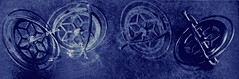 Phobos: Pitch/Roll/Yaw Sequence (MPnormaleye) Tags: blue monochrome design sketch drawing space patterns fantasy blueprint utata filters effect rendering cyanotype aeronautics gyro gyroscope iphone utata:project=scifi