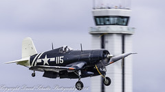 Cleared the Tower (dschultz742) Tags: nikon airplanes sigma painefield aviationday d810 nikonsigma 05212016 1945goodyearfg1dcorsair
