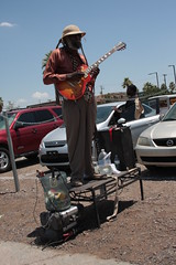 Don't give this guy any money (therealdavidjones) Tags: dreadlocks farmersmarket 5 dick homeless rude prick performer delusional