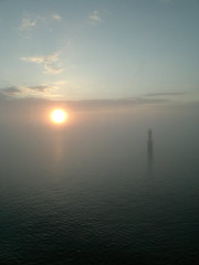 Northern Sea near Stockolm (Mich73b) Tags: sunset sea mist sweden stockolm sude