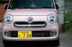 Pink Auto - Kiso Road Japan (KellarW) Tags: pink car japan automobile cocoa kisoroad pinkcar pinkauto