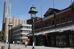 South Street Seaport (ktmqi) Tags: city newyorkcity urban construction downtown southstreetseaport wallstreet fulton streetview fultonmarket