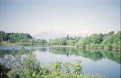 (.) Tags: summer sky mountain lake film nature japan     pentaxsp pro400h