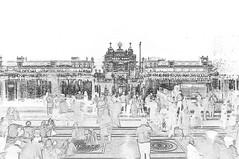 India - Punjab - Amritsar - Golden Temple - 358c (asienman) Tags: india sikh punjab amritsar gurudwara goldentemple harmandirsahib asienmanphotography asienmanphotoart