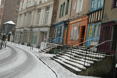Rennes snow - atana studio (Anthony SJOURN) Tags: street snow shop studio town anthony neige circulation rue rennes ville trafic atana sjourn