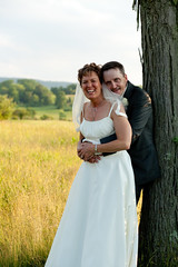 Gail & Mark 6.11.16 (HckySo) Tags: wedding creek canon mark 85mm orchard 5d gail f18 18 altamont