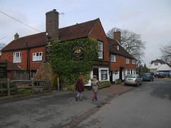 Rose and Crown (Worthing Wanderer) Tags: grey sussex spring april eastsussex dull weald burwash pathfinderguide