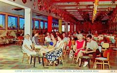 Butlins Bognor Regis - Lounge adjoining Indoor Pool (trainsandstuff) Tags: butlins bognorregis holidaycamp postcard vintage retro old history archival holidaycentre