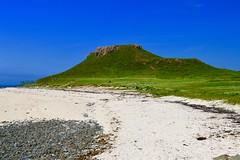 Coral Beach (rustyruth1959) Tags: blue sea sky white green beach nature coral landscape coast scotland sand nikon scenery rocks isleofskye bright hill highland algae nikkor dunvegan coralbeach nikond3200 claigan
