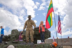 2CR Dragoon Ride II sratic display in Birzai, Lithuania June 12, 2016 (2d Cavalry Regiment) Tags: trooper europe nato usarmy dragoon stryker 2cr usareur eucom taskforcesaber 2dcavalryregiment strongeurope dragoonride alliedstrong 4thsquadron2dcavalryregiment dragoonrideii