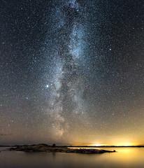 The island (Oscar Keserci Photography) Tags: nightphotography nature night suomi finland landscapes oscar nikon mood nightimages atmosphere astro galaxy scandinavia luontokuva nightscapes luonto maisemat inkoo tähti kimito nikkor1835 nikond750 keserci oscarkeserci