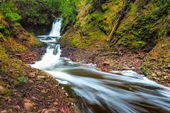 Silver Creek Falls (Kevin Pihlaja) Tags: silvercreekfalls keweenaw upperpeninsula michigan waterfall creek river green spring coppercountry longexposure nature explore landscape flowingwater