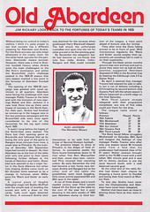 Aberdeen vs Airdrieonians - 1981 - Page 19 (The Sky Strikers) Tags: official stadium scottish aberdeen division done premier programme 30p airdrie the pittodrie airdrieonians