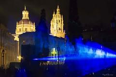 Festival de luz y vanguardia en Salamanca (mibagui22) Tags: plaza luz festival catedral salamanca anaya atrio clereca