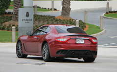 Maserati GranTurismo MC Stradale (RudeDude2140a) Tags: red sports car mc exotic coupe supercar maserati stradale granturismo
