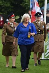 Ann gets a Military Escort