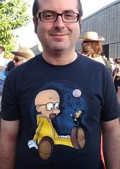 Acto UNIDOS PODEMOS - Humor (Fotos de Camisetas de SANTI OCHOA) Tags: seriebreakingbad parodia pinocho