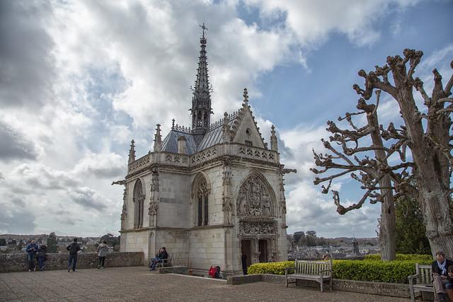 Castello di Amboise - Cappella Saint-Hubert