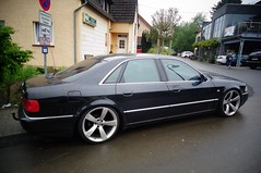 Audi A8 (911gt2rs) Tags: black custom tuning limousine stance schwaz s8 sline tief