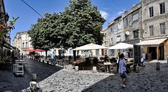 Place-Paul-Doumer,-Arles (RS...) Tags: morning panorama bluesky provence arles v1 matin cielbleu nikon1 laroquette placepauldoumer
