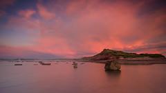 Long Reef Sunrise (RoosterMan64) Tags: longexposure panorama seascape colour clouds landscape australia panoramic nsw longreef northernbeaches rockshelf leefilters