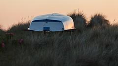 Upside Down (Hkan Dahlstrm) Tags: sunset grass photography se boat skne sweden cropped falsterbo 2016 f32 skneln ef200mmf28lusm canoneos5dmarkii 1400sek skanrmedfalsterbo 25604062016211749