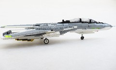 Yet another Tomcat update, 9th of June (Mad physicist) Tags: fighter lego f14 workinprogress jet wip tomcat grumman