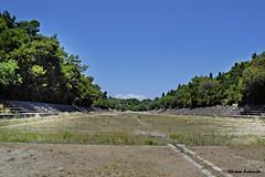- Rodos island (Eleanna Kounoupa) Tags: blue sky islands greece rodos    dodecaneseislands      ancientstadiumofrhodes  hillofmontesmith