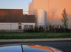 Sundown Sunroof (denizen8) Tags: landscape industrial massachusetts malden whitetank denizen8 201604305413a