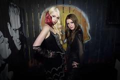 Webbed Mistress (kristin1228) Tags: costumes sexy film halloween dark skulls skull spider costume noir vampire gothic mistress vamp webb confidential webbed incharacter