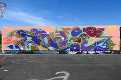 Vuosaaren katutaideaita 2016 (Supafly Helsinki street art office) Tags: graffiti streetart vuosaari katutaide helsinki finland wall artwork