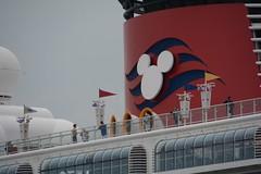 Big Ears (quintinsmith_ip) Tags: sea people river fun ship down tourist disney passenger passing shipping southshields waltdisney disneymagic rivertyne