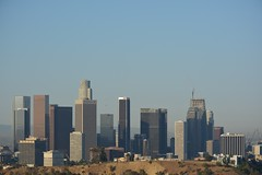 Los Angeles Downtown ca (Rajith M Medagoda) Tags: downtown losangeles ca clearday hotrain la windy fire weather yahoo