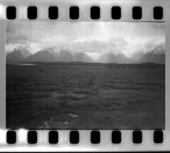 2016-07-02-0061 (Cosmic Ray's) Tags: blackandwhite mountains 35mm kodak olympus scanned vintagecamera tetons exposed grandtetonnationalpark notfake exposedfilm epsonv600